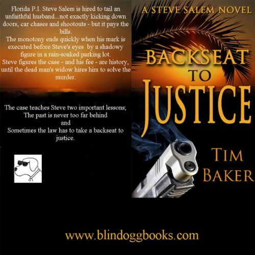 Back Seat to Justice audiobook cover art