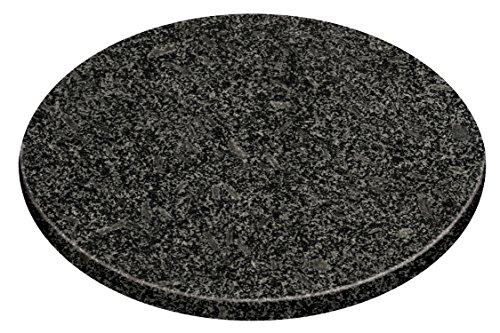 Premier Housewares Speckled Granite Chopping Board, 25.5 cm - Black