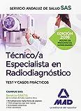 Técnico/a Especialista en Radiodiagnóstico del Servicio Andaluz de Salud. Test y Casos Prácticos