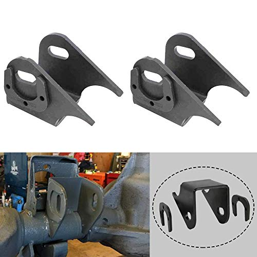 NIXFACE 1Pair Front Lower Control Arm Bracket Axle Side Mount Brackets Fit for 1984-2006 Jeep TJ XJ ZJ MJ