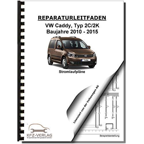 VW Caddy 2K/2C 2010-2015 Schaltplan Stromlaufplan Verkabelung Elektrik Pläne