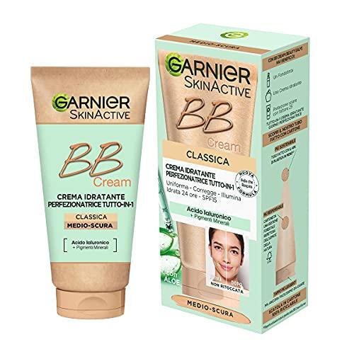 Garnier BB Cream Classica SkinActive, Per Pelle Uniforme e Idratata, Look Naturale,...