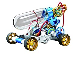 Suitable for age 10 years + Dimensions: 37 x 29 x 8cm Includes: 1x Air Tube 1x Slide Valve, 1x Pressure meter 1x Safety Valve 1x Air Tank, Piston Rod, Gear Sets, Safety Gear, Rear Wheel, Handle Assembly required Warning: Not suitable for children und...