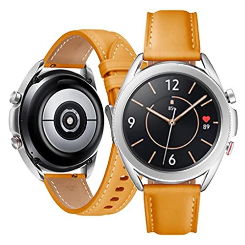 YouthRM Watch3 Reloj Inteligente para Teléfonos Android Relojes Inteligentes a Prueba de Agua para Mujeres Hombres Reloj Deportivo Digital Rastreador de Ejercicios Frecuencia Cardíaca Oxígeno,Yellow