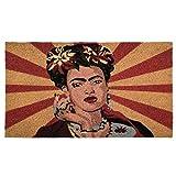 pad - Fußmatte - Fußabtreter - Kokosmatte - POP Art - Frida - 45 x 75 cm