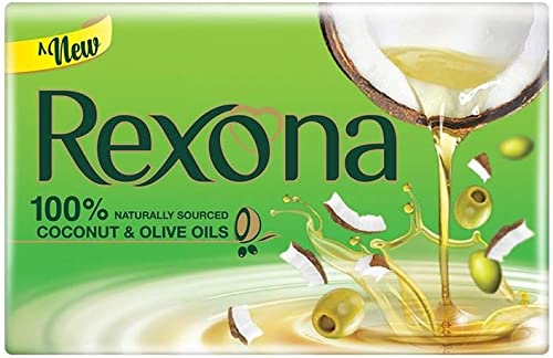 Rexona Coconut and Olive Oil Soap 100g Pack of 4