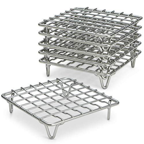 ARROW & EAVES 4″ Mini Stainless Steel Trivet Rack Pot Stands