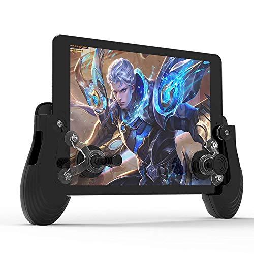XHMCDZ Controlador de Juegos móvil Controlador Mini Control de Agarre Pantalla táctil Gamepad móvil + Joystick 3D + Ventosa para teléfonos Inteligentes con Android iOS