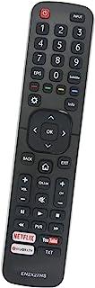 ALLIMITY EN2X27HS Mando a Distancia Reemplazar Apto para Hisense 4K UHD TV H40M3300 H55M7000 H43N5300UK 65NEC5200 H55N5700 H49MEC3050 HE55K3300 H50M3300 H65N5300 HE40K3300 H55MEC3355 H65M5500