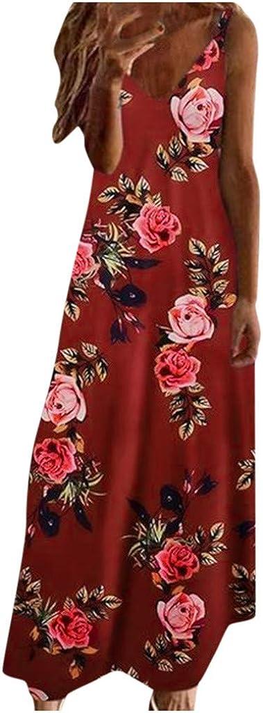 Plus Size Dresses for Women Vintage Neck D Super special price overseas Dress Maxi Bohemian V