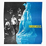 Dc Televised D Mind C Grian Fontaines Album Tour New Chatten Dogrel Home Decor Wall Art Poster
