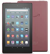 "Fire 7 tablet (7"" display, 16 GB) - Plum"