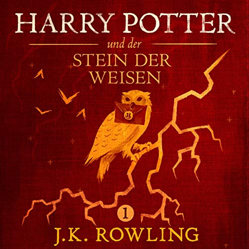 Harry Potter und der Stein der Weisen audiobook cover art