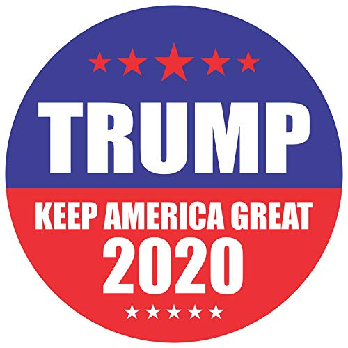 Trump 2020 Stickers Seals Labels (Pack of 120) 2