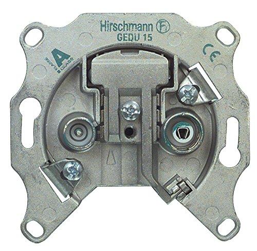 Hirschmann RH-GEDU15 HIRSCHMANN ANTENNENDURCHGANGSDOSE
