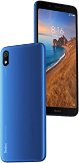 "Xiaomi Redmi 7A 2GB 16GB 5.45""HD Snapdragon 439 Octa Core Mobile Phone 4000mAh 13MP Camera with Smartphone Matte Blue"