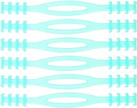 NUOBESTY 6 Stks Extensie Gesp Oorriem Verstelbare Riem Extender Siliconen Touw Band Voor Ontspannen Uw Oren (Groen)