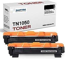 SMARTOMI, confezione da 2, cartucce toner nero TN1050 compatibili con Brother TN1050 per uso con stampanti Brother serie...