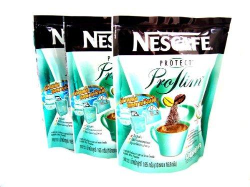 3 Nescafe Protect Proslim Pro Slim Diet Slimming Weight Control Coffee 10 Sticks