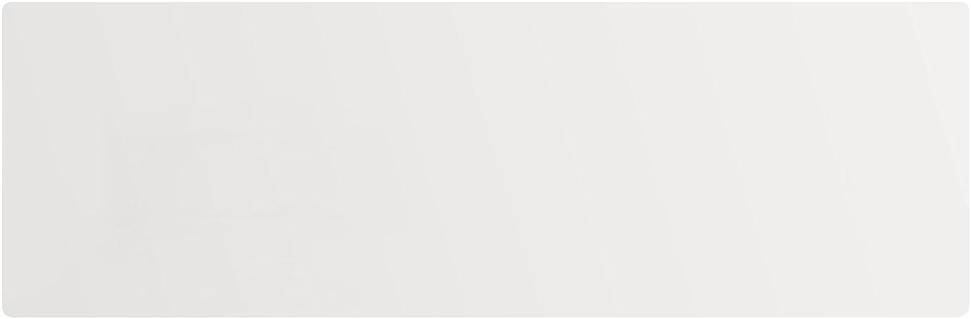 歌詞棚政権アキレス キッチンフロアマット 極薄1mm厚 (80×90) 透明