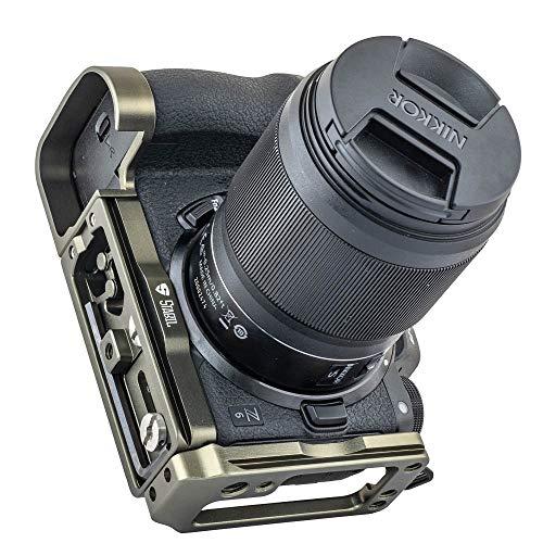 2019 Stabil LNZ L-Platte (Halterung) für Nikon Z7 / Z6 Kamera, harteloxiert
