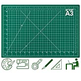 Self Healing Cutting Mats for Sewing, Audab 12' x 18' Rotary Cutting Mats for Crafts 5-Ply Double Sided Fabric Cutting Mat for Sewing, Quilting, Scrapbooking, Arts & Crafts