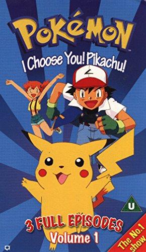 Pokémon TV Series V.1-I Choose You [Reino Unido] [VHS]