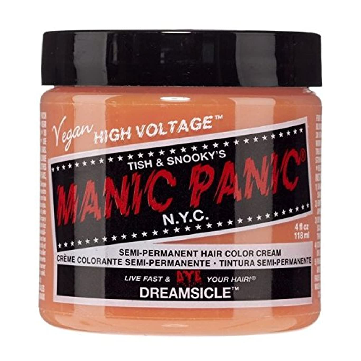 ペイントメジャーリレースペシャルセットMANIC PANICマニックパニック:DREAMSICLE (ドリームサイクル)+ヘアカラーケア4点セット