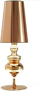 BOJOK - Lampara Mesilla De Noche Lamparas De Mesa Modernas Pantalla De Tela,lámpara Decorativa E27 110 V/220 V Defender Lámpara De Mesa Para Dormitorio Lamparas Mesa