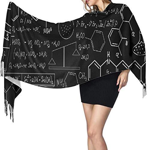 Mooie Chemie Vector Naadloos Patroon Plots Vrouwen Kasjmier Sjaal Winter kasjmier Sjaal Voor Mannen Grote kasjmier Sjaal 77