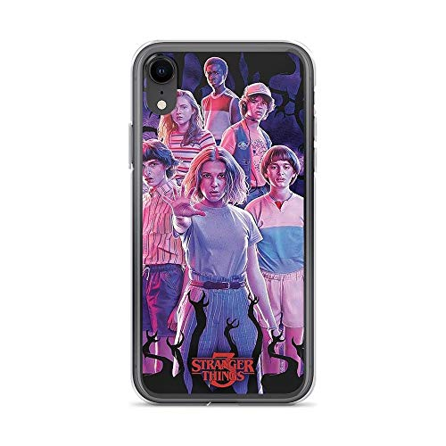 Beamm-Frost Compatible with iPhone 7 Plus/8 Plus Case Stranger Things Upside Down Pure Clear Phone Cases Cover