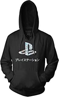 Playstation Adult Unisex Logo Foil Pull Over Fleece Hoodie