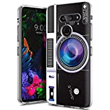 Yoedge Case for LG V35 ThinQ/LG V30, Case Cover Clear with