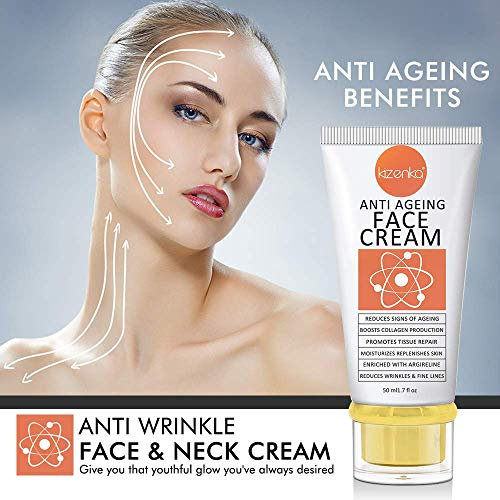 51yVAkmCSiL - POWERFUL Age Defying Face Cream, Anti Aging Moisturizer, Anti Wrinkle Cream with Matrixyl 3000 Reduces Signs Of Ageing Vitamin C Hyaluronic Acid, Dark Spots Removal Spots Hyper Pigmentation