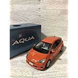 1/30 トヨタ アクア AQUA 前期 カラーサンプル 非売品 ミニカー シトラスオレンジマイカメタリック