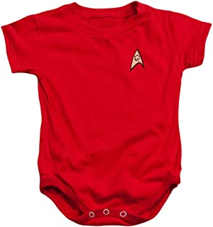 Engineering & Security Red Uniform Infant One-Piece Snapsuit