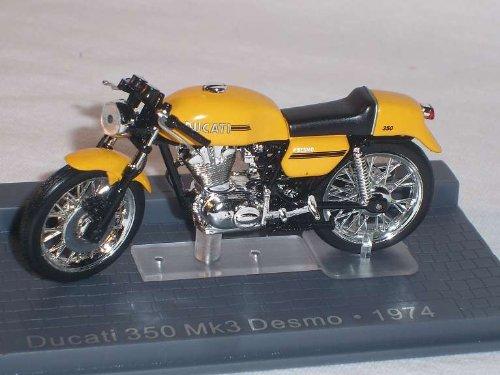 DUCATI 350 MK3 MK 3 DESMO GELB 1974 1/24 ALTAYA BY IXO MODELLMOTORRAD MODELL MOTORRAD SONDERANGEBOT