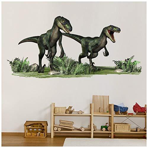 azutura Dinosaurio del Velociraptor Vinilos Jurásico Dino Pegatina De