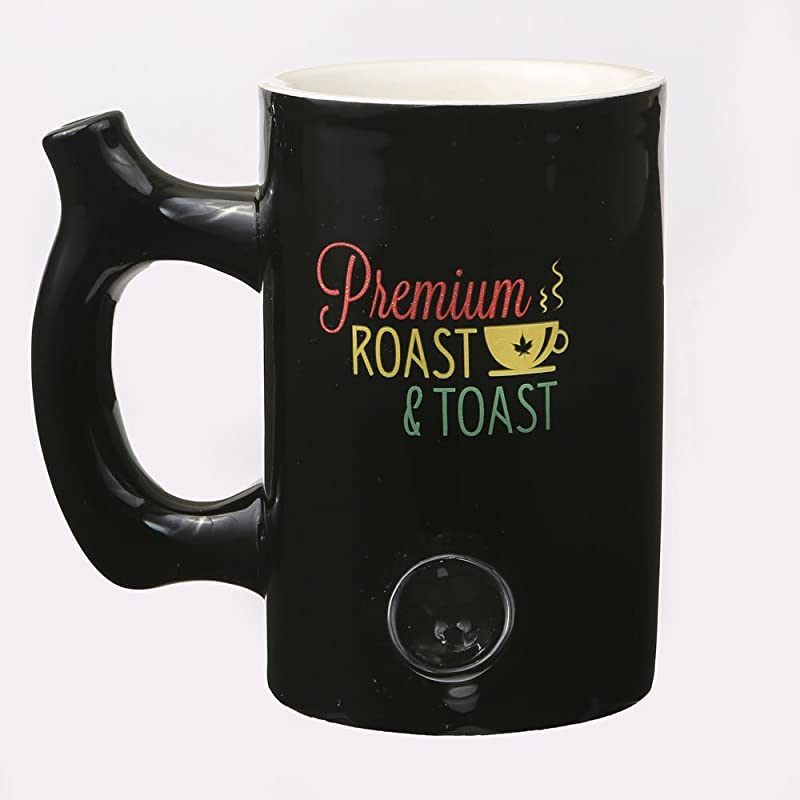 Fashion Craft 82346 Premium Roast Toast Mug 5 1 4 X 6 X 4 1 4 Black