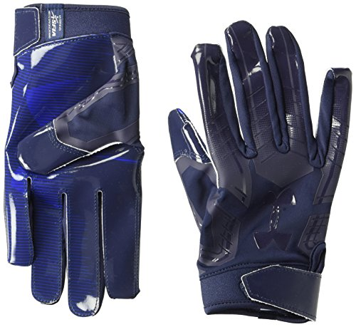 Under Armour F6 LE Guantes Fútbol Americano para Hombre Midnight Navy - x-Large