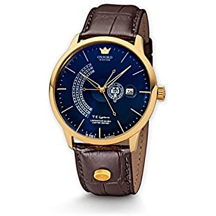 Kronsegler Men's Automatic Watch Oxford Masters Limited Laurence Of Arabia Edition Gold/Blue