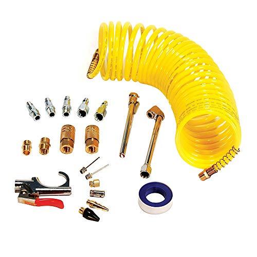 Kit de Manguera de Aire de 20 piezas Accesorios para Compresor de Aire Herramientas de Aire de Conexión Rápida de 1/4 Pulgadas Tipo de Ensamblaje Herramientas Neumáticas