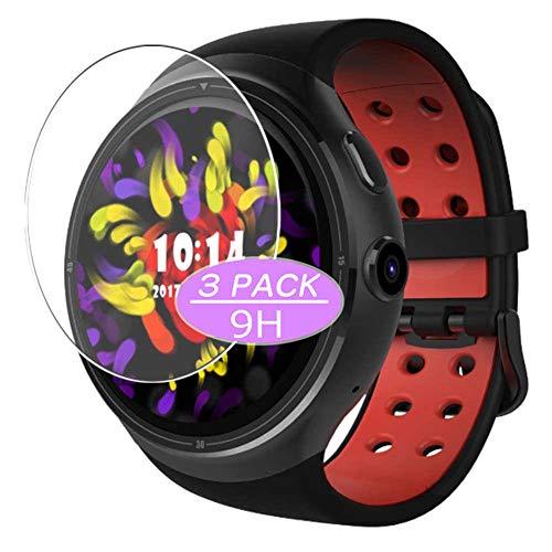 Vaxson 3 Stück 9H Panzerglasfolie, kompatibel mit Diggro D106 smartwatch Smart Watch, Panzerglas Schutzfolie Displayschutzfolie Bildschirmschutz