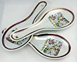 Turks & Caicos Map Pearl Souvenir Collectible Spoon Rest agc