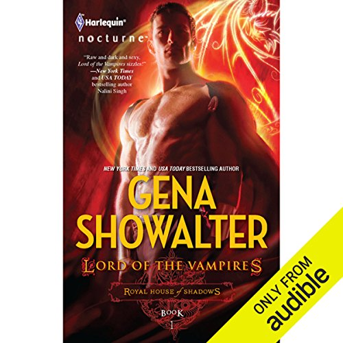 Lord of the Vampires                   By:                                                                                                                                 Gena Showalter                               Narrated by:                                                                                                                                 Genvieve Bevier                      Length: 7 hrs and 42 mins     337 ratings     Overall 3.7