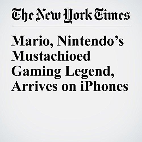 Mario, Nintendo's Mustachioed Gaming Legend, Arrives on iPhones audiobook cover art