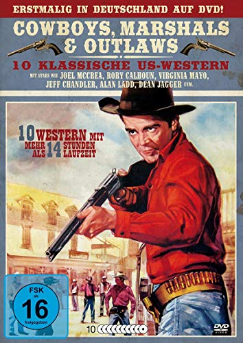 Cowboys - Marshals & Outlaws - Klassische US - Western Box (10 Filme auf 10 DVDs)