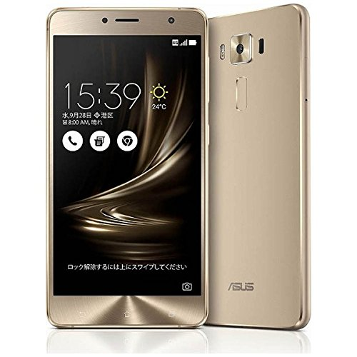 ASUS SIMフリースマートフォン ZenFone 3 Deluxe ゴールド ZS550KL-GD64S4