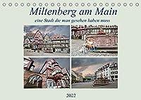 Miltenberg am Main eine Stadt die man gesehen haben muss (Tischkalender 2022 DIN A5 quer): Wow, eine tolle Stadt mit toller Altstadt. (Monatskalender, 14 Seiten )