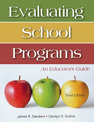 Evaluating School Programs An Educator Prime S Guide